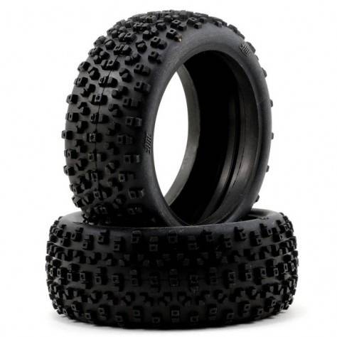HB RACING PROTOS TIRE Unmounted (Pink/ 1/8 Buggy)