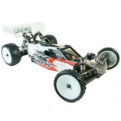 SWORKz S12-2M(Carpet Edition) 1/10 2WD EP Off Road Racing Buggy Pro Kit