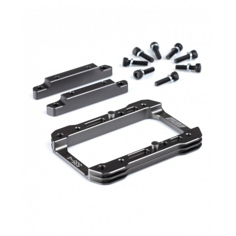 SWORKz Engine Mount System 0 Degree V2, AL Gray (Set) Made by PSM