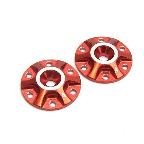 Answer RC 1/8 Wing Washers - SPOKES - 2pcs - RED